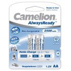 Camelion HR6 Mignon AA AlwaysReady 2-pack blisterverpakking 2500mAh